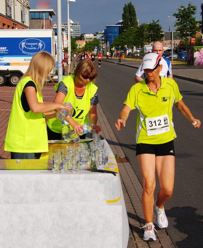 Rostocker Marathonn-Nacht 2010 - Bereich Stadtzentrum und Stadthafen