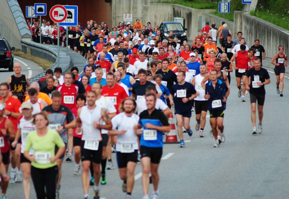 Rostocker Marathonn-Nacht 2010 - Bereich Warnowtunnel